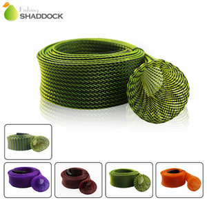 1 pieces Fishing Rod Sleeve Protector casting fishing rod cover leather head sea fishing rod accessories