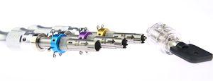 HUK 7Pin Tubular Dietriche Werkzeug 7.0mm 7.5mm 7.8mm Verlängerte Verschluss-Öffner Bauschlosser-Werkzeuge mit 7 Pins Visible Tubular Dietriche
