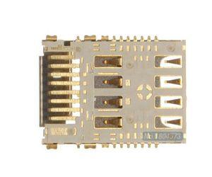10pcs  lot Original Sim Slot For LG G3 D855 D850 D851 SIM Card Reader Holder Reader Slot Mobile Phone Replacement Parts