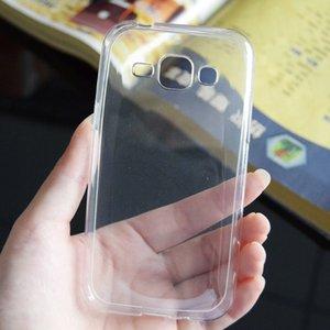Custodie morbide trasparenti ultrasottili per Samsung Galaxy Note4 Note5 Note7 On5 Custodia trasparente in gel TPU siliconato per retro C5 C7 Pro