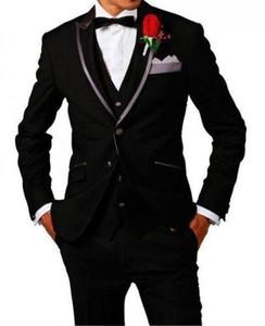 Groom Tuxedos Notch Lapel Best Man Groomsmen Men Wedding Suits Bridegroom Groom Tuxedos