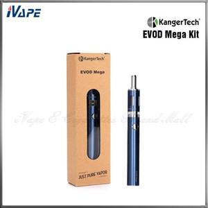 100% originale Kit di avviamento Mega Kanger EVOD Kit di sigarette Kangertech EVOD Mega E 1900mAh Batteria 2.5ml Atomizzatore Kit Kanger Express
