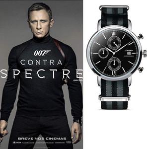Relógios dos homens de moda, timing, cinto de tecido, relógios de negócios de moda, 2017 de alta qualidade novo relógio atacado