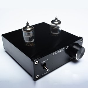 Freeshipping FX-AUDIO TUBE-01 الصفراء preamp أنبوب مكبر للصوت preamp الصفراء العازلة 6J1 مركبتي المضخم dc12v