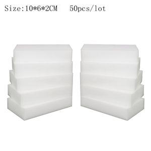 Acessórios de cozinha Esponja Mágica para Pratos de Limpeza de cozinha aparelhos de banheiro de Alta qualidade Nano Esponja 50 pçs / lote BY-HMC-A50