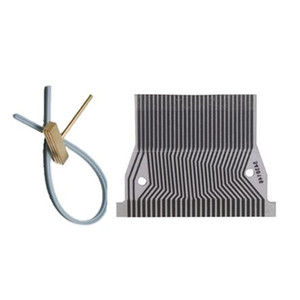 Topcartool OBDDIY lcd ribbon cable for nissan quest instrument display lcd pixel repair welding solder tip rubber cable