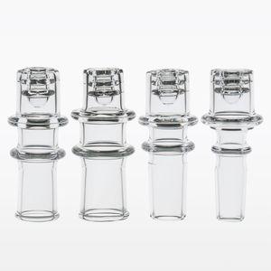 Nuevo Quartz Diamond Knot Nail dnail e nail elegante D para 20 mm bobina bong de vidrio hembra para tubería de agua cuarzo banger