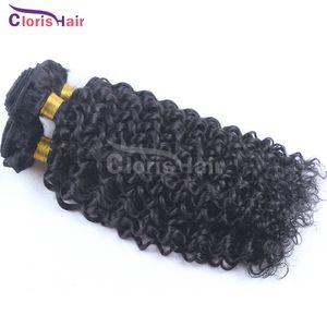 Premium ahora sin procesar mongol rizado pelo rizado armadura 3 unids precio más barato Afro rizado mongol cabello humano paquetes vendedores