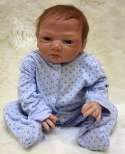 Realista Handmade Baby Dolls Menina Recém-nascido Lifelike Vinyl Vivo Reborn Baby Doll
