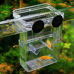 2016 new Transparent Fish Tank Aquarium Incubator Fish Breeding Hatching Boxes Multifunctional Acrylic Fish Breeding Isolation Box