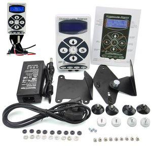 Wholesale- Tattoo Power Supply Professional Hurricane HP-2 Powe Supply LCD Display Digital Dual Tattoo Power Supply Machines Free Shipping