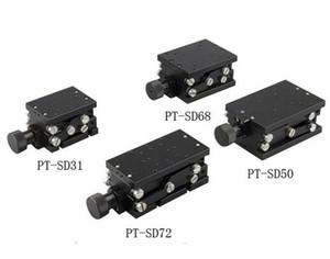 PT-SD31 / 72 / 68분의 50 정확한 수동 리프트, Z 축 수동 랩 잭, 엘리베이터, 광학 슬라이딩 리프트, 50분의 31 / 68 / 72mm 트래블