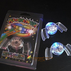 50 teile / los LED zähne licht MULTI FARBE Mund lichter Schutz für party Weihnachten dekoration