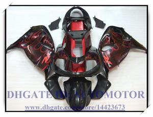 Alta qualidade 100% apto novo kit carenagem de Suzuki TL1000R 1998-2003 1999 2000 2001 2002 Suzuki TL1000R CHAMA 98-03 # WB838 PRETO VERMELHO
