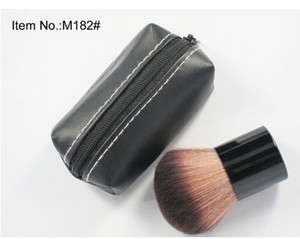 Spedizione gratuita! 2018 hot New arrivano Makeup Professional 182 Rouge pennello da trucco kabuki Blusher Brush + custodia in pelle (1 pezzi / lotto)
