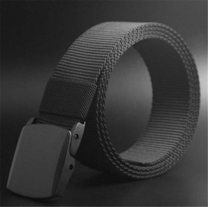 Male Belt High Quality Designer Brand Automatic Buckle Belt For Men Casual Style Tactical Belt For Jeans 120cm Wholesale