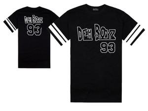 Hiphop Free Men Hop # 93 Streetwear Masculino T-shirt T-shirt Camisetas Dem tops camisetas Cool Tee Fashion Shipping Roupas Rock Boyz EVGBC