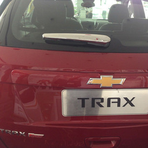 Para 2014 2015 Chevy Trax ABS Chrome tapa trasera limpiaparabrisas trasero tapa del limpiaparabrisas Trim TRAX Car Styling Accessories