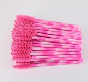 1000 pinceaux de maquillage en fibre synthétique pour mascara jetables Applicateurs de mascara Brosses de mascara comme couleur d'image
