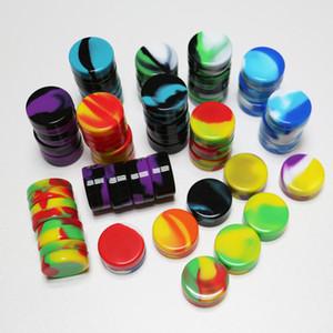 Contenitori concentrati di olio di cera Dab Estrattori di bho approvati dalla FDA Contenitori in silicone personalizzati con 3ml di olio piccoli contenitori in silicone all'ingrosso spedizione gratuita