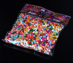 1000PCS цвета фасоль многоцветной Perler BEADS 5MM смешивание цветов