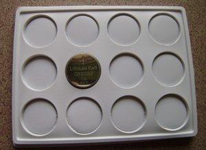 1000pcs / lot 3v piles CR3032 de pile bouton au lithium 3L