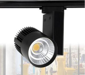 30W chaud blanc froid COB Rail d'éclairage LED ampoule Taiwan lumière spot à puce 85-265 Volt éclairage LED Wall Track