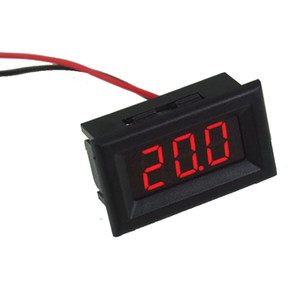 Mini voltmetro digitale Voltmetro LED rosso Display DC2.5-30V Voltage Meter Voltage Detector with Reversal Protection