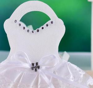 Creativo Baby Shower Favore di partito Forniture Novità Gonne GirL Candy Packaging Borse Baby compleanno Favore Souvenir Candy Box