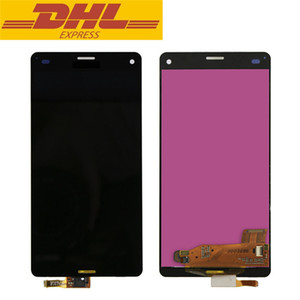 Sony Z3 Kompakt LCD için Z3 mini D5803 D5833 Ekran Dokunmatik Ekran Digitizer Meclisi Ekran Değiştirme Toptan Fiyat