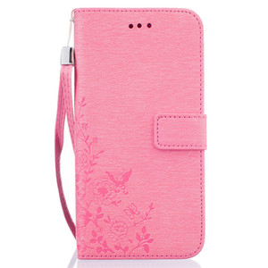 Moda Çiçek Baskı Deri Cüzdan Kılıf Koruyucu Kapak Standı Telefon Kapak iphone 7 7 artı