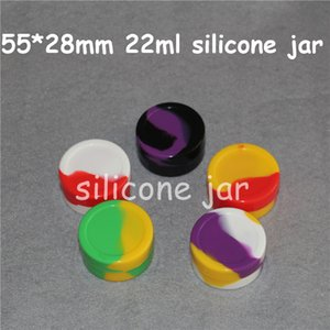 Silicone Containers For Wax Reusable Silicone Wax Box DAB 6+1 Silicone Case 1.5ML 3ML 5ML 6ML 7ML 10ML 22ML DHL