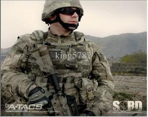 A-TACS Camouflage-Anzug setzt Armee-Militäruniformkampf Airsoft-Uniform / Jagdkleidung im Freien ein