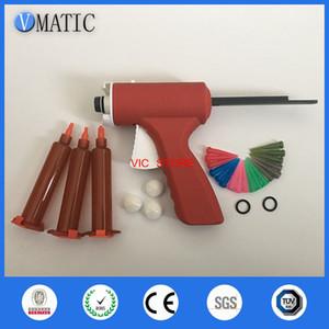 Manual de frete grátis 10ml Syringe Gun / Epoxy calafetagem adesiva Gun líquido Glue Gun / Dispensing Gun com agulhas de seringa Barrel