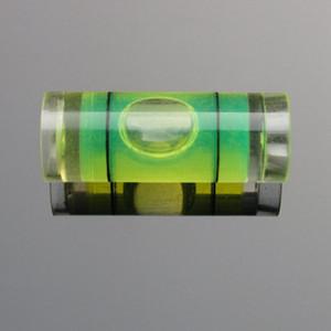 HACCURY Plastic Tubular Level Bubble mini spirit level bubble for Photo Frame level measurement instrument