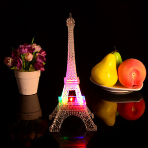 Factory direct supply flash light tower night market stall tower in Paris are light in Eiffel Tower