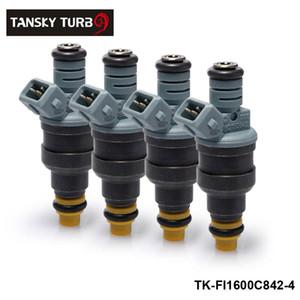 TANSKY - 4 adet Yeni Yüksek Performanslı Düşük Empedans 1600cc 160LB EV1 En Yakıt Enjektörleri OEM: 0280150842 TK-FI1600C842-4