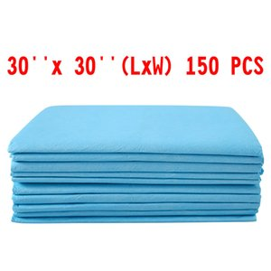 150 PCS 30 x 30 Puppy Pads Pet Dog Cat Wee Pee Piddle Pad traverse di formazione