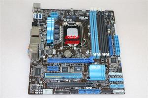 De segunda mano para Asus P8P67-M Desktop Motherboard para Intel P67 Socket LGA 1155 DDR3 En oferta
