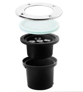 Оптовые продажи горячих 5x3W WW / PW / CW Напольный В рамках основного сада заливающего света Точечный светильник IP68 водонепроницаемый 10pcs / lot
