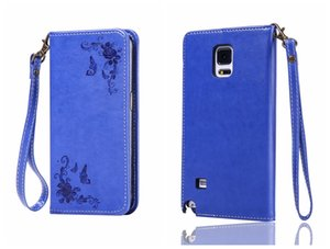 Per Samsung Galaxy Note 5 4 3 Cover Flip Case Luxury Leather Card Retro Classic Cover per Galaxy Note5 Note4 Note3 Case