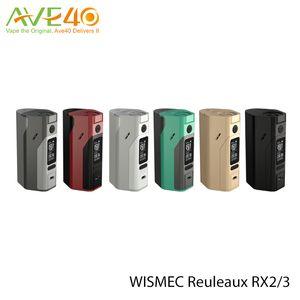 Wismec Reuleaux RX23 RX2 / 3 RX2 3 для двух / трех ячеек 510 подпружиненная резьба имеет режим VW/TC / TCR Out Put