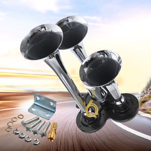 Universal 110-135db Super Loud Trompete Trompete Buzina de Ar Do Trem para o Barco Do Veículo Carro Do Trem 12 V / 24 V AUP_40M
