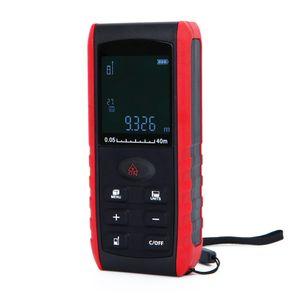 dhl / fedex 20pcs / lot 40M 핸드 헬드 디지털 레이저 거리 측정기 레인지 파인더 레인지 파인더 레벨 테스터 도구
