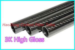 1-10 pcs 30MM OD x 28MM ID Carbon Fiber Tube 3k 500MM Long with 100% full carbon, (Roll Wrapped) Quadcopter Hexacopter Model 30*28