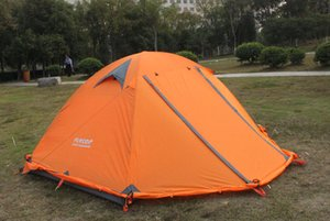 Summer Outdoors Tents the Summer Outdoors Tents 2016 Camping Shelters for Two People Double Aluminum Rod Against DHL Fast Shipping