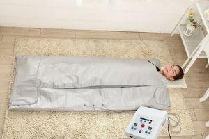 Manta de la sauna de infrarrojos Manta Térmica Pérdida de peso adelgazante Wrap Wrap portátil Sauna portátil Manta Bolsa de abeto Máquina de adelgazamiento
