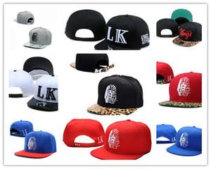 Ucuz Sıcak Last Kings Deri Snapback şapka beyaz soyunma LK Tasarımcı Marka erkek kadın beyzbol kapaklar hip-hop sokak kapaklar Ücretsiz Nakliye DD