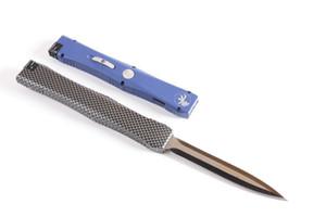 5 modèles Nemesis IV VI couteaux de D / E BLADE canping de chasse flail pull simple action couteaux couteau de poche satin