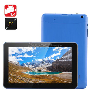 Free Shipping 8GB ROM 9inch A33 Allwinner Quad Core 1.5GHz Tablet PC Google Android 4.4 Bluetooth 512MB RAM Dual Cameras Wifi